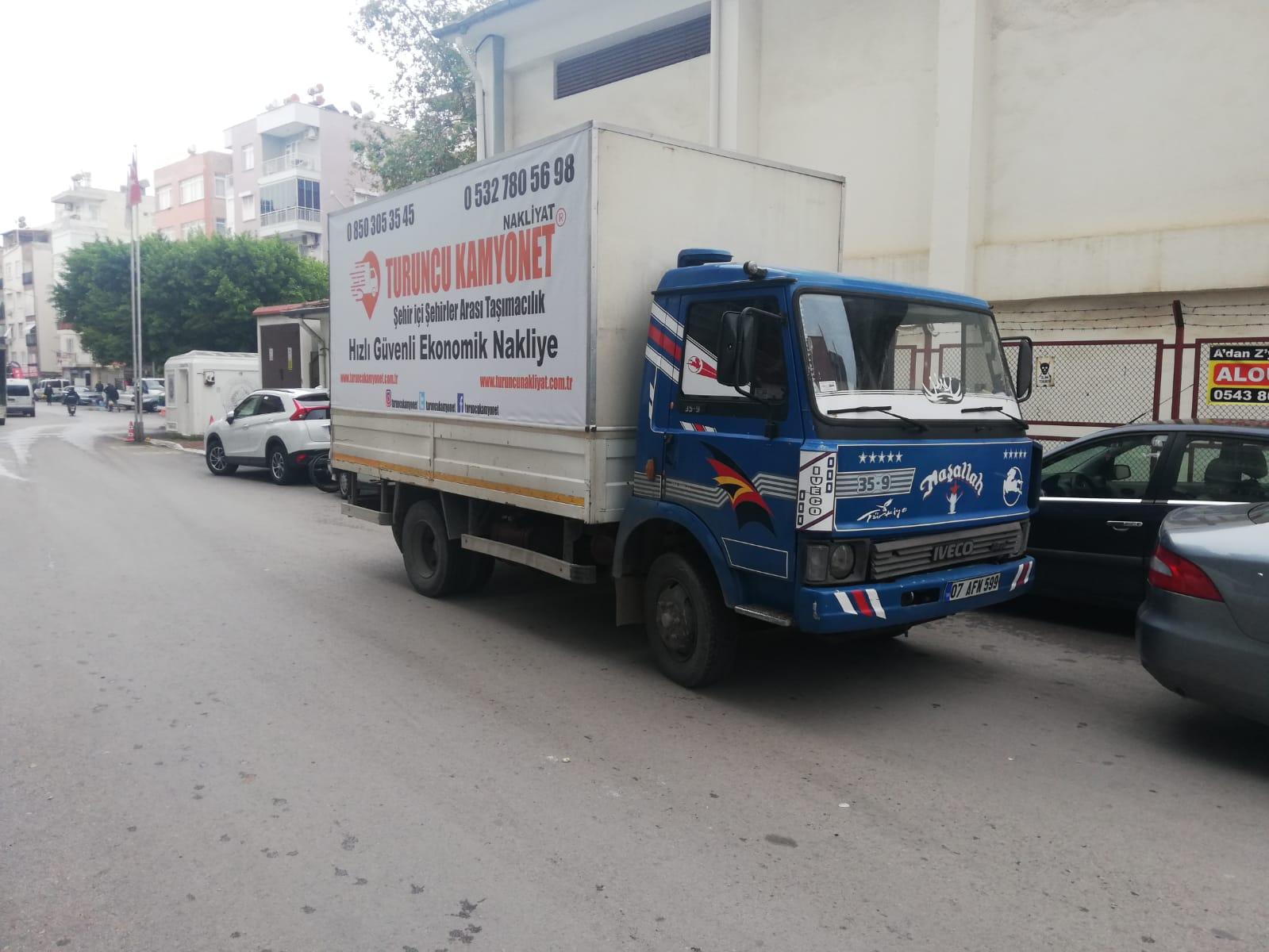 Muratpaşa Kamyonet Nakliye